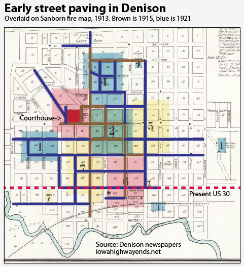 Denison Highway Chronology on cd 4 map, route 4 traffic, mistralton city map, main street map, i-70 map, interstate 80 map, i-74 map, route 4 car, i-55 map, edo castle map, chargestone cave map, line 4 map, i-26 map, cerulean cave map, highway 20 map, pallet town map,